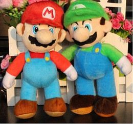Super Mario 8inch High Quality Super Mario Soft Plush MARIO LUIGI MARIO BROS PLUSH DOLL