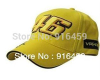 Wholesale rossi embroidery baseball cap hat motorcycle racing cap VR46 sport baseball colors hat cap