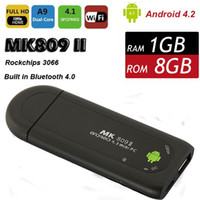 Wholesale MK809II Android TV Box Google Mini PC Dual Core MK809 II TV BOX Wifi GB RAM GB Bluetooth HDMI