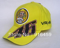 Wholesale doctor pattern racing size Rossi fans hat Rossi motorcycle star sports men s and women s F1 car peaked cap