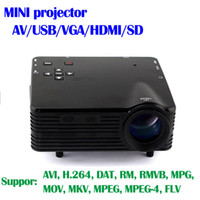 Cheap DLP Home theater cinema LCD mini Portable Projector beamer Support 1080P Projectors for play station 4 computer xbox one