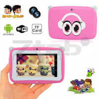 Wholesale Small mini Kid Tablet PC for Child Android Dual Core Dual Cam Kid Application