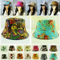Wholesale 2014 New Unisex Bucket Hat Boonie Hunting Fishing Outdoor Sport Cap Golf Visors Men Women Summer Fisherman hats