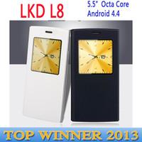 Wholesale Original LKD L8 MTK6592 Octa Core Android Mobile Phone inch GB ROM GB RAM Dual sim mp Camera GSM G GPS Smartphone C1