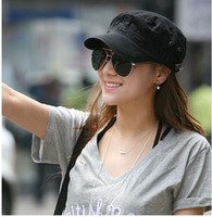 Wholesale 2013 flat topped hats fashion hat military cap Star sun caps casual price Unisex Spring Summer Autumn
