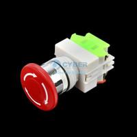 Wholesale 10pcs New Emergency Stop Switch Push Button Mushroom Push Button Switch TK0325