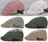 Wholesale Unisex Newsboy Cabbie Driving Shadow Flat Cap Hat Colors