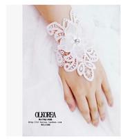 Wholesale Wristlet lace shirt dress accessories wedding bridal bracelet tattoo scar cover large wristlet gloves lace bracelet