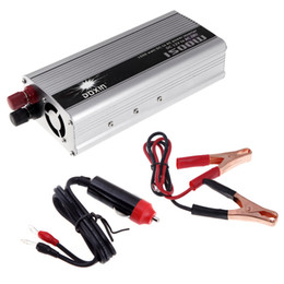 Wholesale 1500W WATT DC V to AC V Portable Car Power Inverter Charger Voltage Converter Transformer K1241
