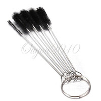 Cheap 5 pcs SET Nylon Brush Shank BRIAR Tobacco Pipe Cleaner Cleaning Stainless Steel
