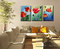 Wholesale Canvas decorations wall art Handpainted living room decoration High Q abstract oil painting on canvas panel Stretched S037