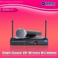 Wireless professional karaoke system - KU long range Handheld Mic Transmitter Professional Karaoke UHF Wireless Microphone System consumer electronics