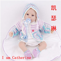 Cheap Freeshipping Catherine 50 CM Top Limited Edition silicone reborn baby dolls 100% handmade reproduction Baby Collector's Edition
