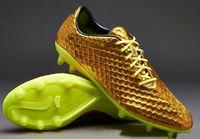 Hypervenom Phantom Premium Fg Soccer Shoes GoldVoltBlack , S...