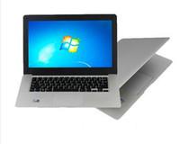 Cheap Cheap Ultrabook slim 14 inch Laptop Computer Intel D2500 N2600 1.86GHZ Dual Core 4GB 320GB Win 7 Notebook Netbook pc Webcame A3
