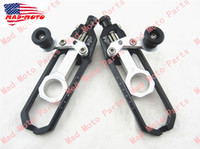 Wholesale high quality MAD MOTO huihuan motorcycle Chain Adjuster with spool BMW S1000RR black silver color