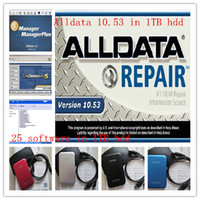 Wholesale Fit in win xp alldata and mitchell on demand software alldata GB coverage from cars trucks in high quality TB HDD