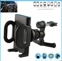 Wholesale Air Vent Car Mount Holder Universal for Iphone S S Samsung htc Mobile Phones Smart Cell Phones MID GPS