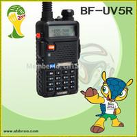 Wholesale BF UV5R New BAOFENG walkie talkie two way radio UV R VHF136 MHz UHF MHz Dual Band Radio UV5R