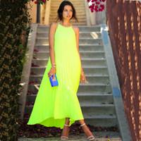 strapless maxi dress - New Fashion Women Sexy Strapless Chiffon Bohemian Maxi Long Beach Dress Summer Solid Casual Dress