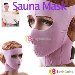 Wholesale Anti wrinkle Anti Sag Sauna Mask Wrap Cheek Slim Up Face Uplift Beauty Facemask