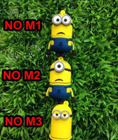 Wholesale Free DHL GB GB GB novelty cartoon Minions Despicable Me USB Flash Drive Memory Stick pen drive pen drive