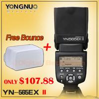 Cheap YONGNUO YN-565EX II,YN565EX II,GN58 TTL Flash Speedlite for Canon 6D 7D 5D Mark II, 5D Mark III, 70D 60D 1Dx 700D 650D 5D 600D
