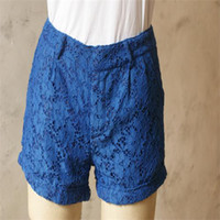 Cheap Lady lacy shorts manufacturers selling lace composite in LADIES SHORTS a sell full packet mail