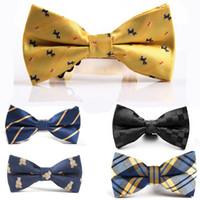 Wholesale 100PCS Men bow tie Solid dot pattern bowtie men bowties color optional