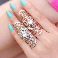 Wholesale OP New Fashion Wedding Jewelry Rhinestone Rings For Women Jewelry Gold Silver Rings Gemstone