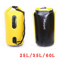 Wholesale Maxped High Quality PVC Waterproof Bag One Two Shoulder Thickening Rafting Floating Bags Foldable L L