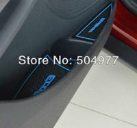 Wholesale Ford ecosport door tank pad cup pad storage pad slip resistant pad set