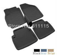Wholesale Car foot mat for Mazda Mazda step mat auto foot mat three colors car floor mat left steering ONLY