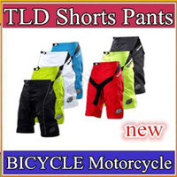 Wholesale DHL Big discount top quality Troy Lee Design Moto Shorts BICYCLE MTB BMX DOWNHILL Shorts TLD Moto Motorcross Motorcycle Shorts Pants