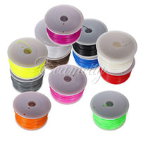 Cheap Multicolor New 1kg 1.75mm PLA Filament with spool For Makerbot Mendel Printrbot Reprap Prusa 3D Printer Machine Free Shipping