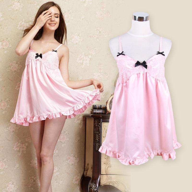2014new Brand For Summer Women'S Home Dress Sexy Cute Princess ...