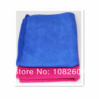 Cheap Free Shipping 2 PCS 30*30cm Microfiber Cleaning Novelty household wipes Rag Car care bath washing kitchen towel