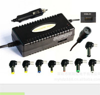 Wholesale Lowest Price New High Quality W Universal Used Laptop Notebook Car Auto Adapter Charger Power Supply Output For DC V