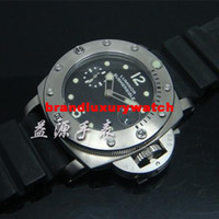 Wholesale Men watch Stainless steel luxury Watches AUTOMATIC Wristwatch PA50 steel case leather band
