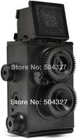 Wholesale Sets DIY Adoult LOMO Camera Science Vo1 Twin Lens Reflex TLR Camera Holga