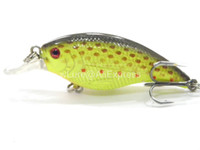 Wholesale Fishing Lure Crankbait Hard Bait Fresh Water Shallow Water Bass Walleye Crappie Minnow Fishing Tackle C657X13