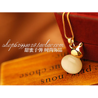 beaded gourd - eye gourd new arrival accessories necklace short design female