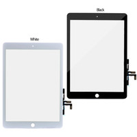 Wholesale New Replacement Touch Screen Lens Glass Digitizer Parts For iPad Air G A1474 A1475 Black or white
