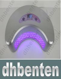 Wholesale LAI139 W LED UV Curing Lamp Nail Gel Polisher Dryer Tool Fashion Salon Nails SPA Equipment