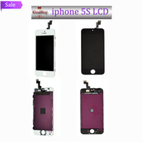 Cheap Best price Black White LCD Display & Touch Screen Digitizer Full Assembly for iPhone 5S Replacement (1603010)