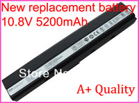 Wholesale New Cell Laptop Battery A32 K52 A42 K42 A42 K52 A31 K42 for ASUS K42 K42j K52 K52f K52jr K52JB K52DE K52D Series