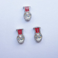 Wholesale slot machine charms floating charms for living locket