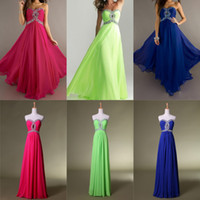 Reference Images Sweetheart Chiffon 2014 SSJ Real-image Prom Dresses Crystal Beading Criss Cross Bodice A Line Sweetheart Neckline Floor Length Chiffon Cheap Evening Gowns