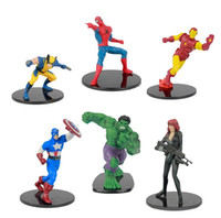 Wholesale Hotselling The Avengers toys action figure Toys kids Brinquedos for Kids Christmas Gift set cm