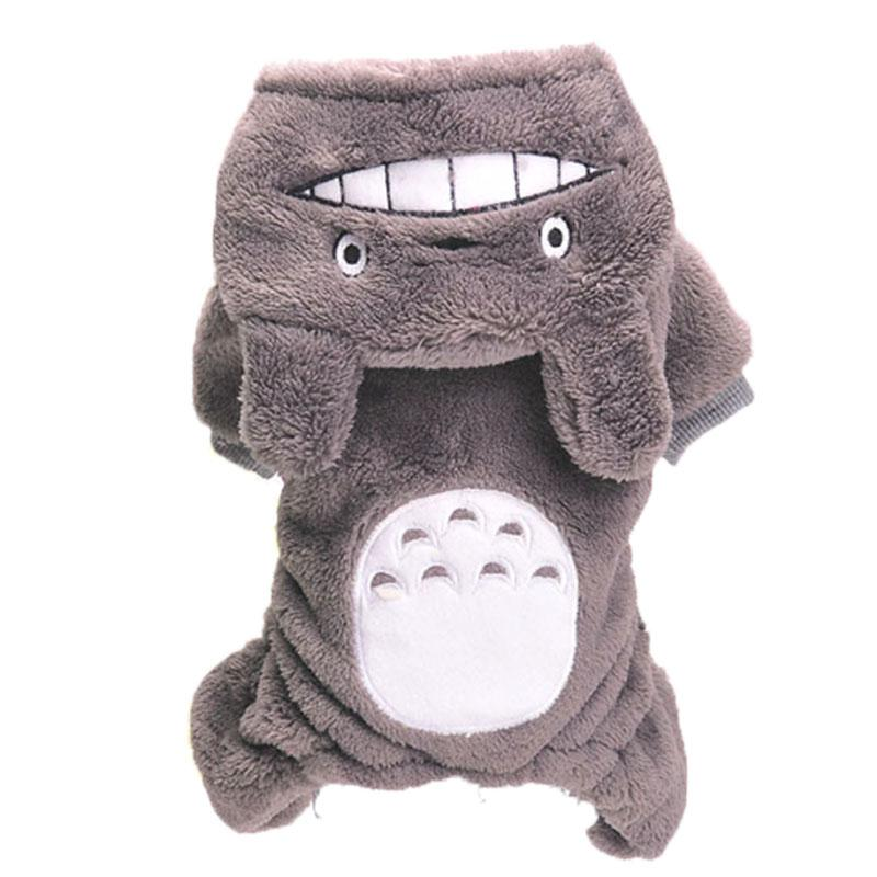 Cute Dog Clothes Chinchilla Galesaur Totoro Design Pet Clothing Jumpsuit Puppy Overall Apparel Cat Kitten Costume From Pleansantpet, $7.54 | Dhgate.Com